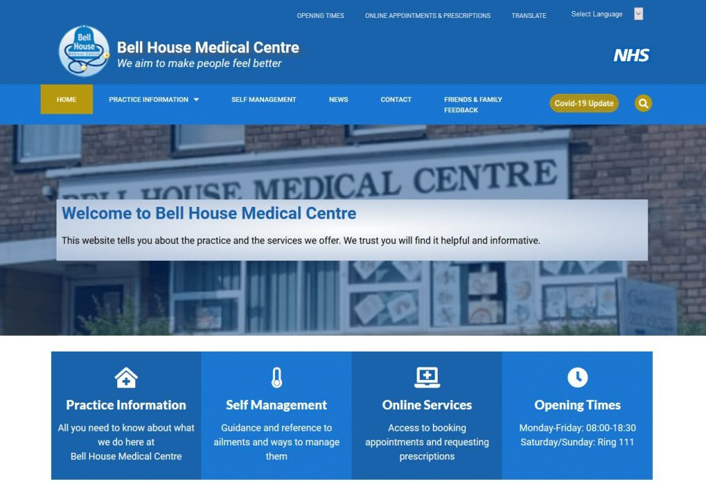 Bell House Medical Centre