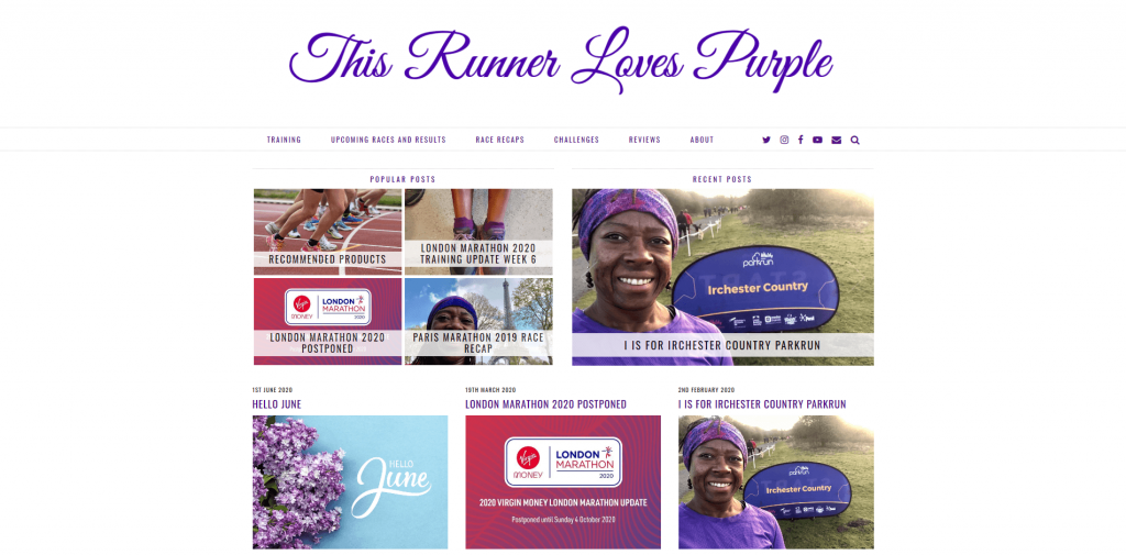 This Runner Loves Purple
